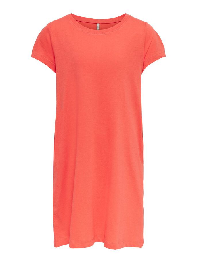 LOOSE DRESS, Deep Sea Coral, large