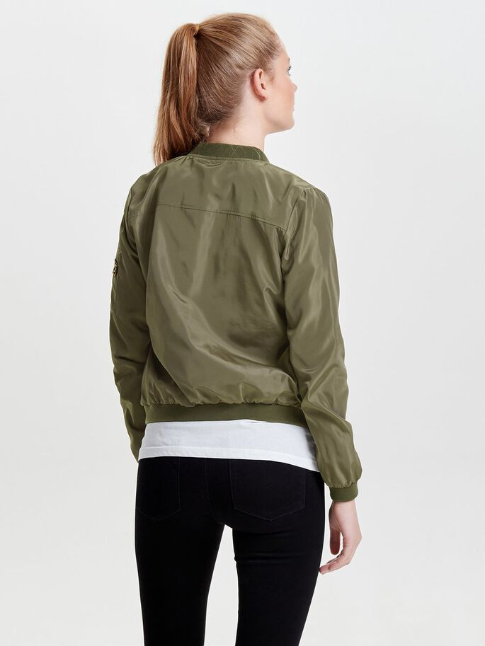 NYLON BOMBER JACKETS, Tarmac, large