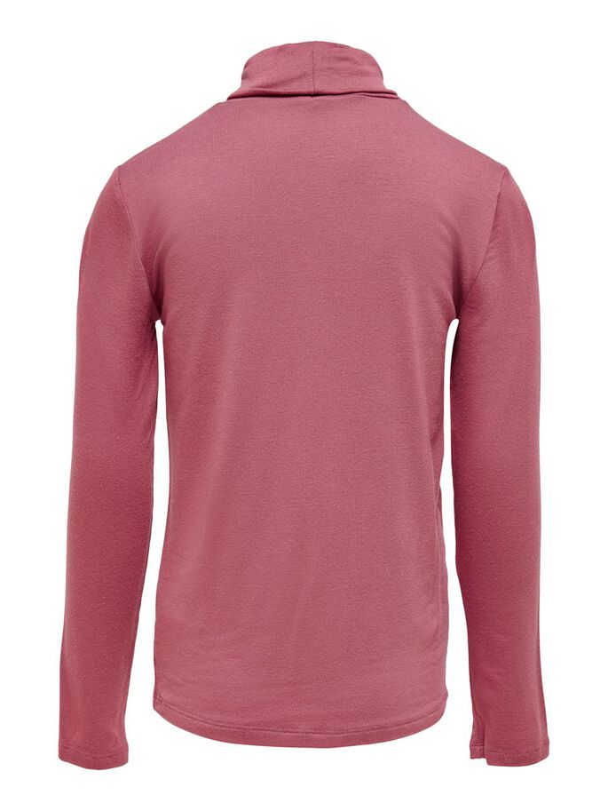 ROLL NECK TOP, Mauvewood, large