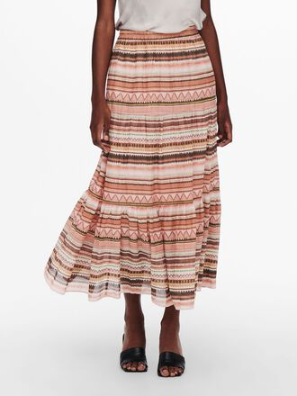 LOOSE FITTED MAXI SKIRT
