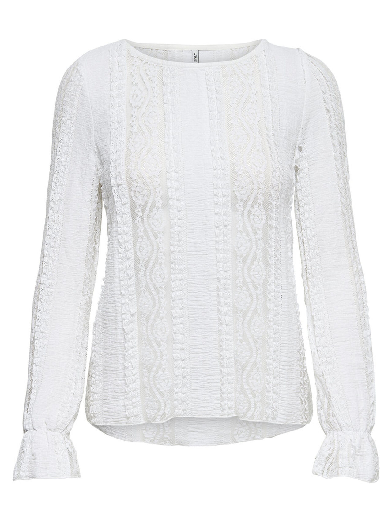 ONLY Lace Blouse Women White