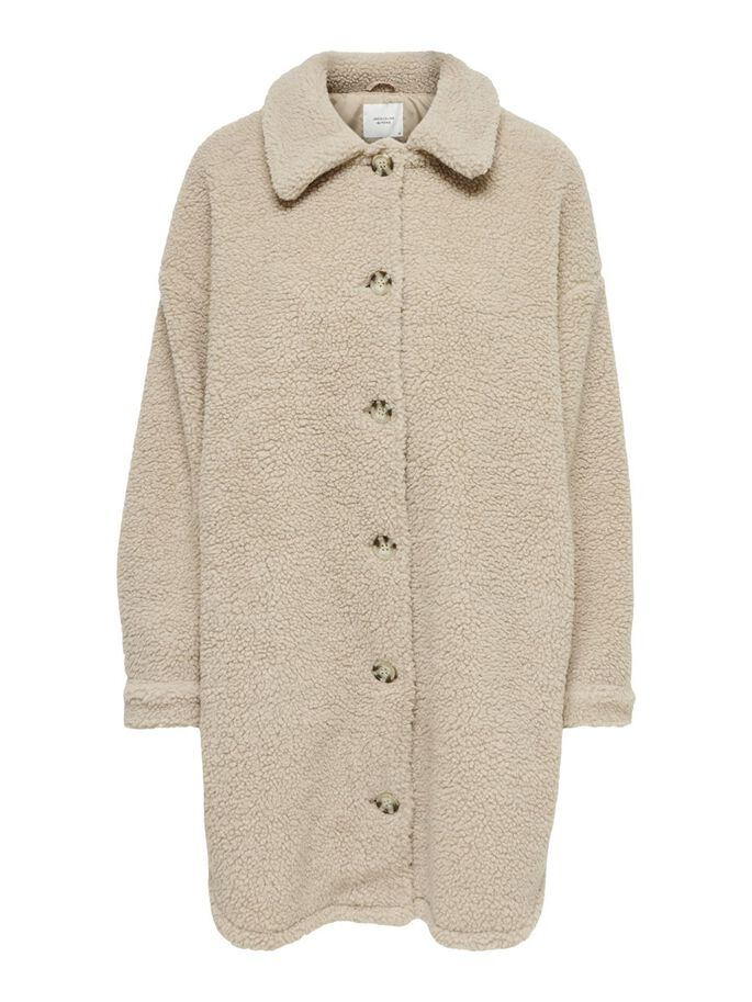 TEDDY JACKET, Cement, large