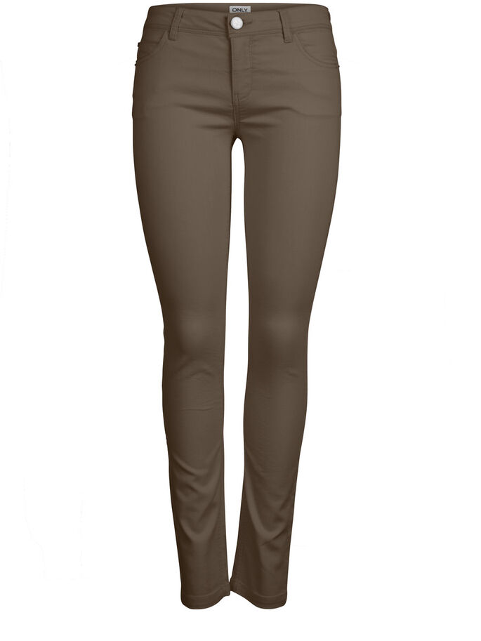 NYNNE SKINNY PANTS, Chocolate Chip, large