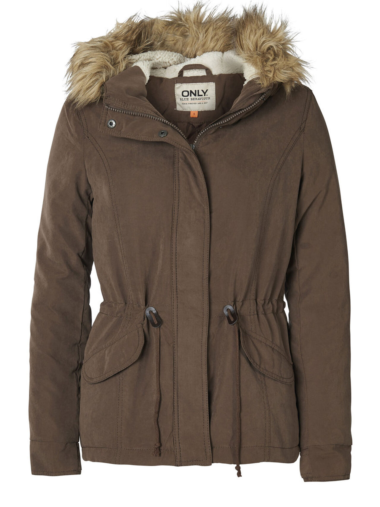 d28f8f033 ONLY SHORT PARKA COAT