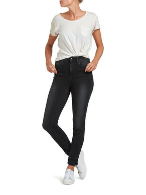 CORAL HIGH SKINNY FIT JEANS
