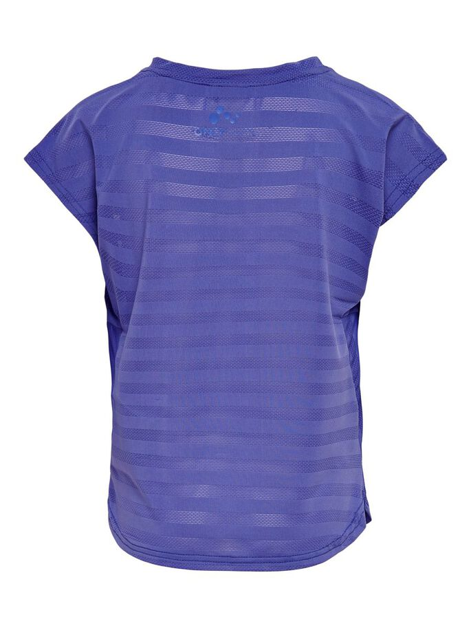 LOOSE FITTED TRAINING TOP, Blue Iris, large