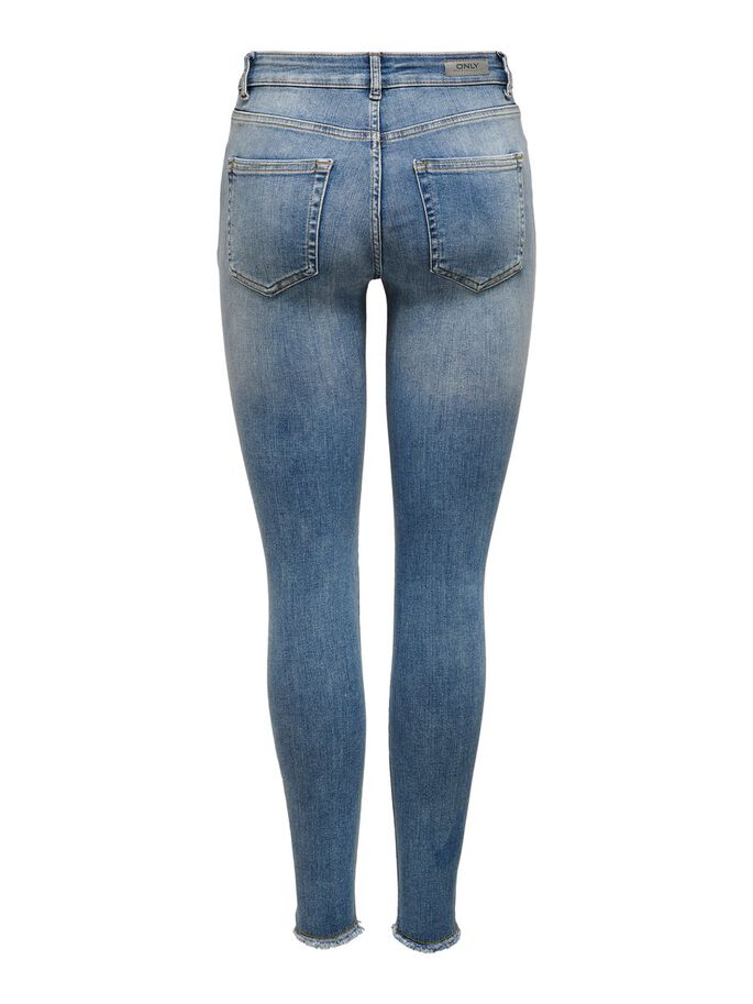 BLUSH ANKELLÅNGA SKINNY FIT-JEANS, Light Blue Denim, large