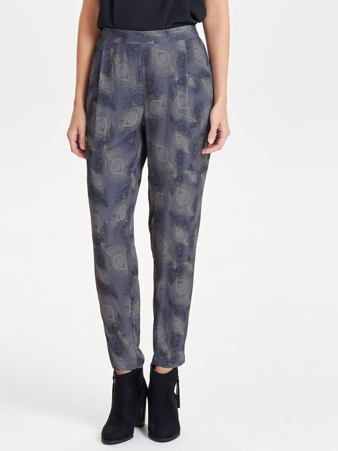 PRINTED TROUSERS, Deep Well, large