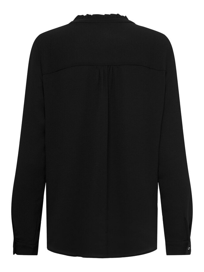 DETAILED SHIRT, Black, large