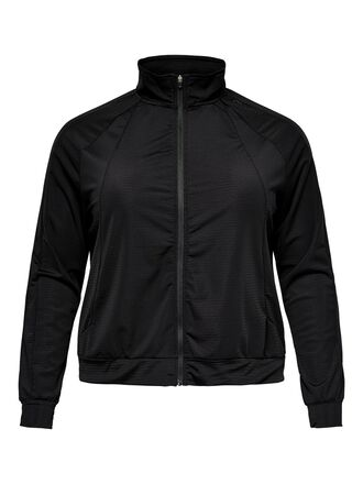 CURVY ZIP TRAINING TOP