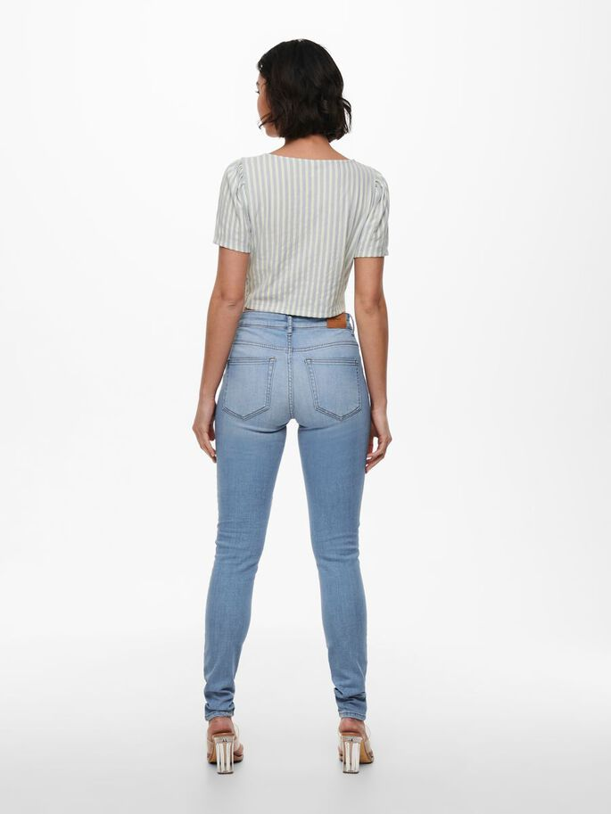 CROPPED TOP, Faded Denim, large