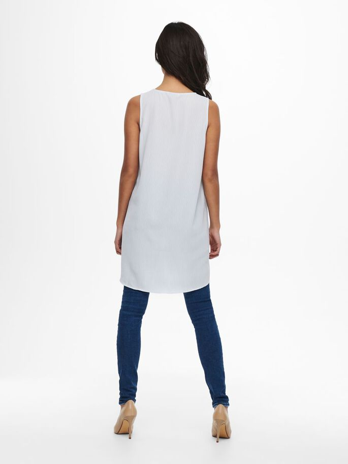 LONG TOP, Chambray Blue, large