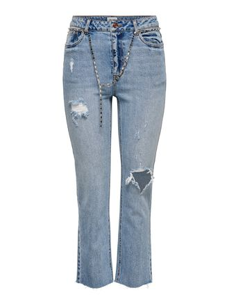 ONLERIN HW ANKLE STRAIGHT FIT JEANS