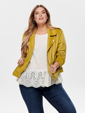 e10ab389 Plus size jackets and coats - Women's curvy fashion | ONLY CARMAKOMA™