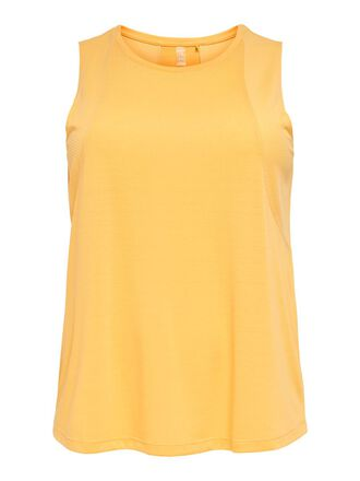 CURVY SOLID COLORED TANK TOP