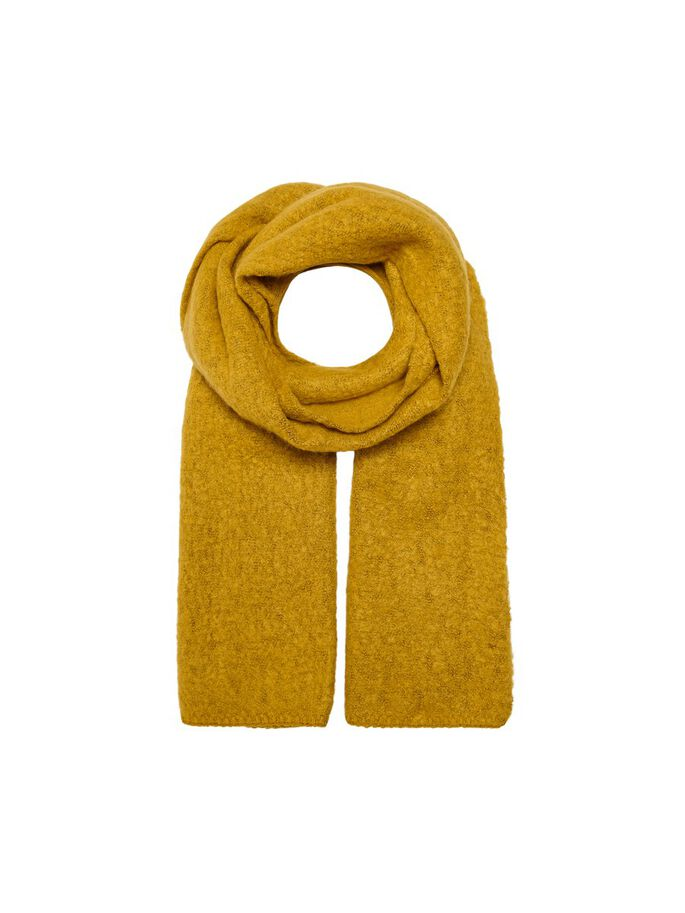 LONG SCARF, Golden Yellow, large