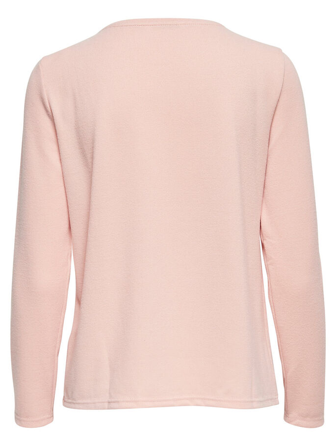 DETAILED PULLOVER, Rose Smoke, large