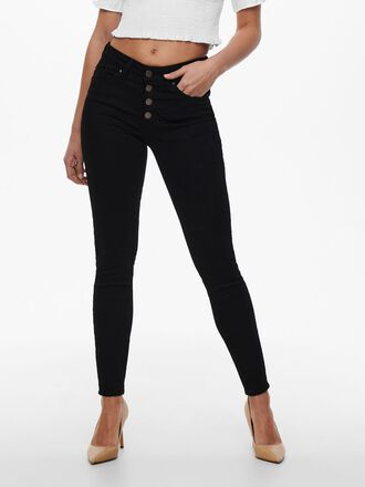 ONLHUSH LIFE MID SK ANK SKINNY FIT JEANS