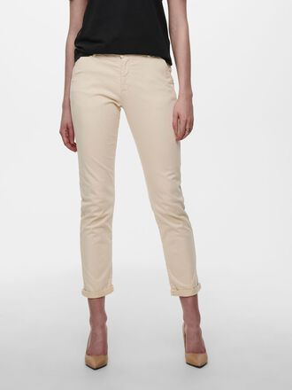 SOLID COLORED CHINOS