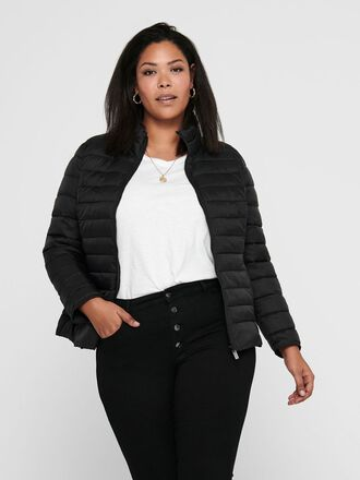 CURVY SHORT QUILTED JACKET