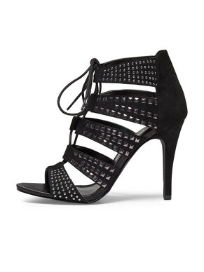 HIGHHEELED STUD SANDALS