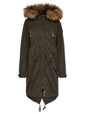 FUNCTIONAL PARKA COAT