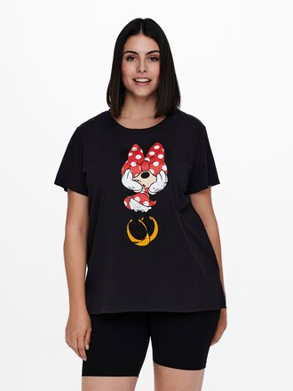 CURVY MINNIE MOUSE PRINTED T-SHIRT