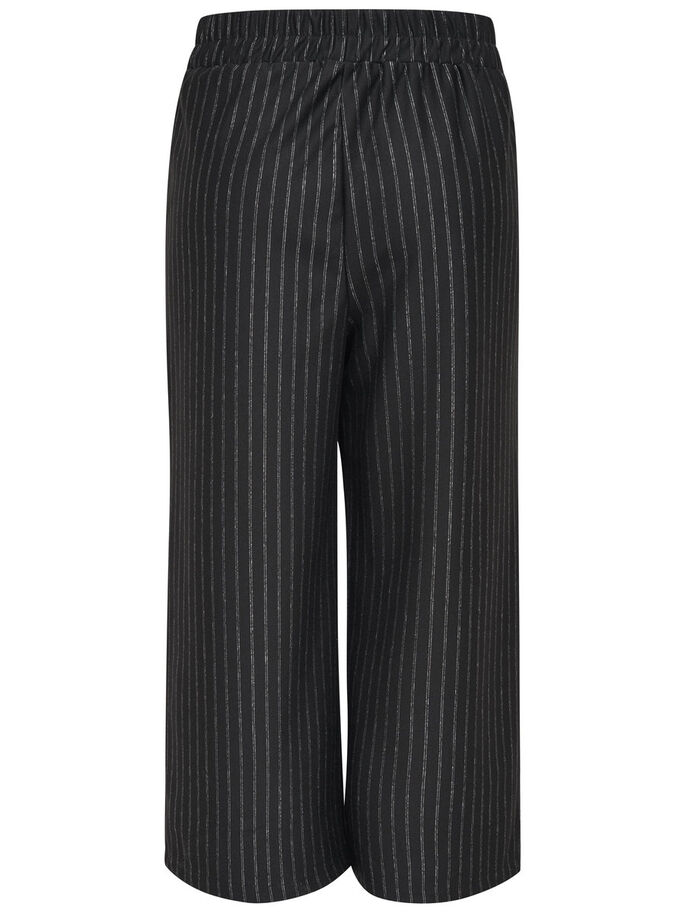 RAYURES PANTALON, Black, large