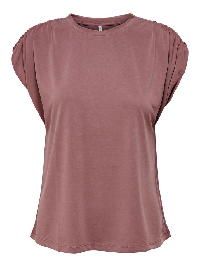 COUPE AMPLE TOP, Rose Brown, large