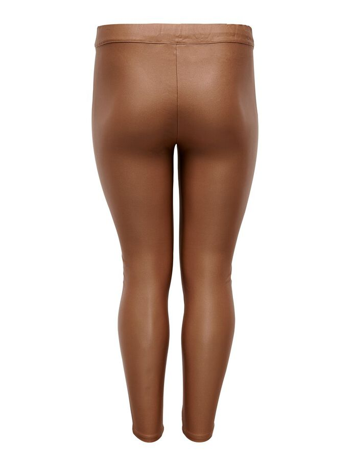 BESCHICHTETE CURVY LEGGINGS, Argan Oil, large