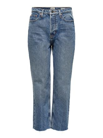 ONLROXY HW STRAIGHT FIT JEANS