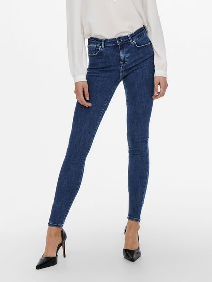 ONLPOWER LIFE MID PUSH UP TALL SKINNY FIT JEANS
