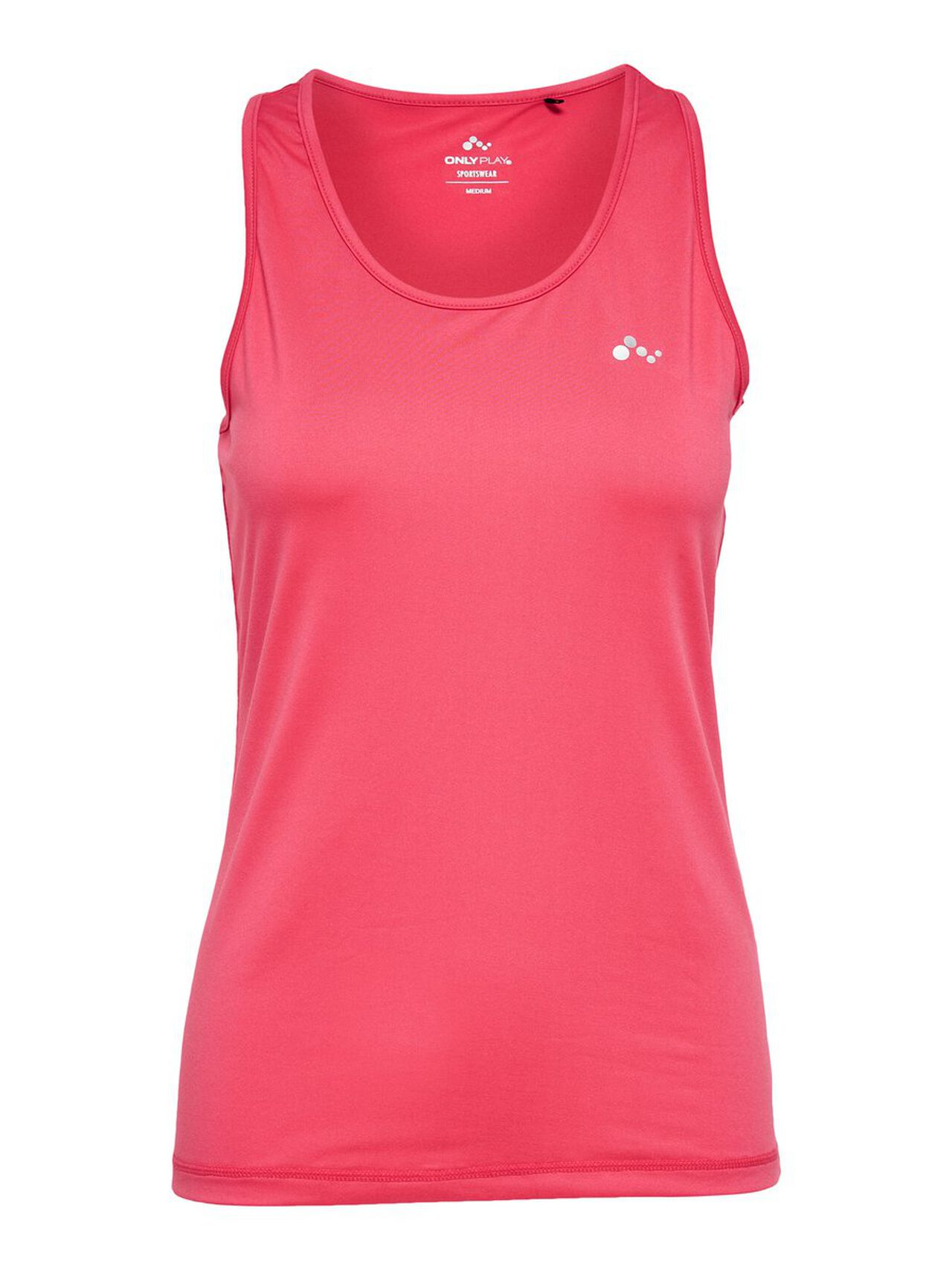 ONLY Solid Sports Top Women Pink