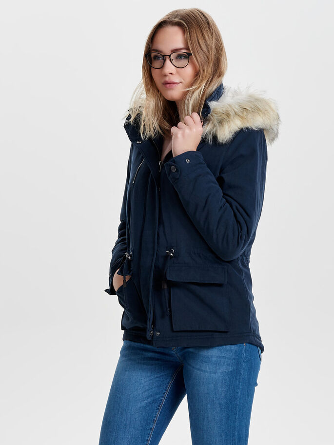 Short parka coat | ONLY