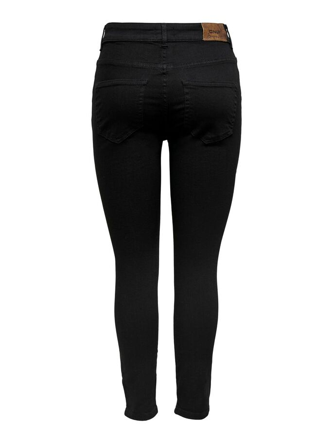 ONLBOBBY LIFE MID ANKLE SKINNY FIT JEANS, Black, large