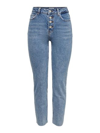 ONLEMILY LIFE HW CROPPED STRAIGHT FIT JEANS
