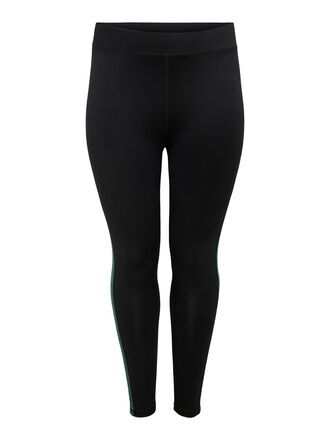 CURVY SOLID COLORED TRAINING TIGHTS