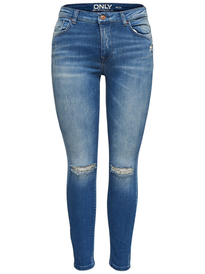 KAMMA REG ANKLE SKINNY FIT JEANS, Medium Blue Denim, large