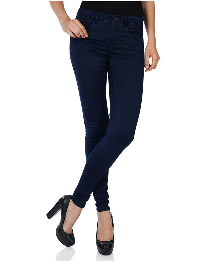 ROYAL REG. SKINNY JEGGINGS, Dark Blue Denim, large