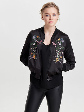 BOMBER EMBROIDERY JACKET