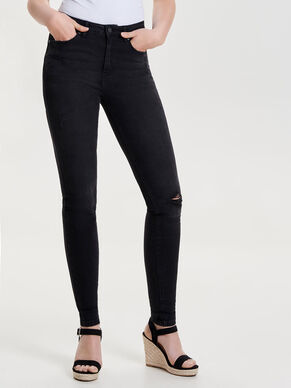 PEARL HIGH WAIST SKINNY FIT JEANS