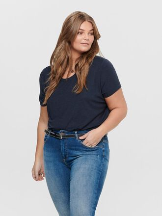 CURVY SOLID COLORED TOP