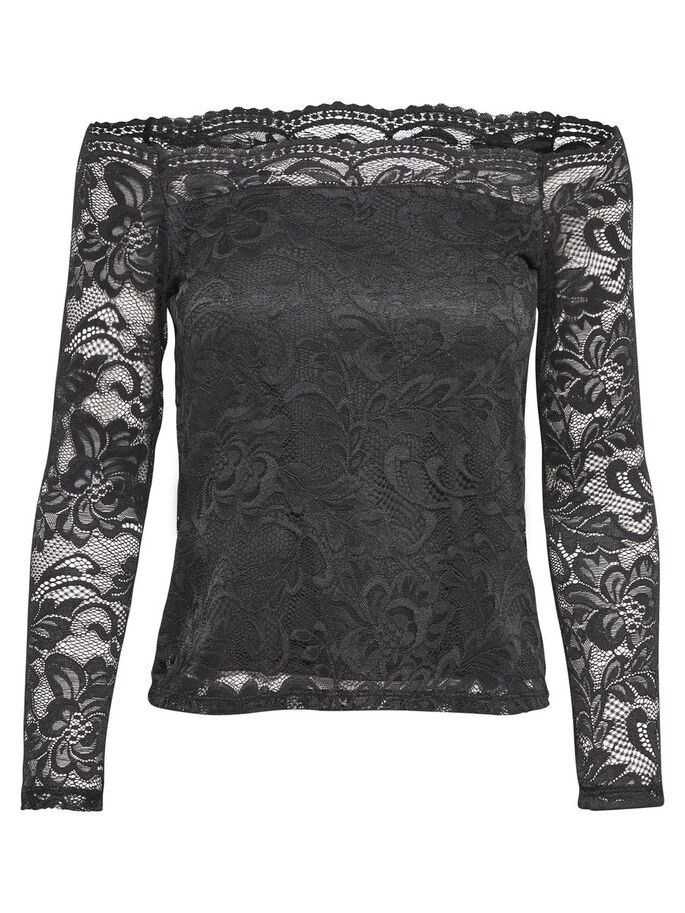 BLONDET LANGERMET TOPP, Black, large