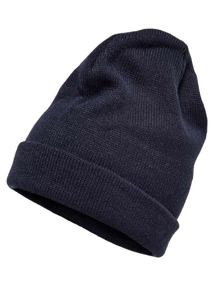 KNITTED BEANIE, Night Sky, large