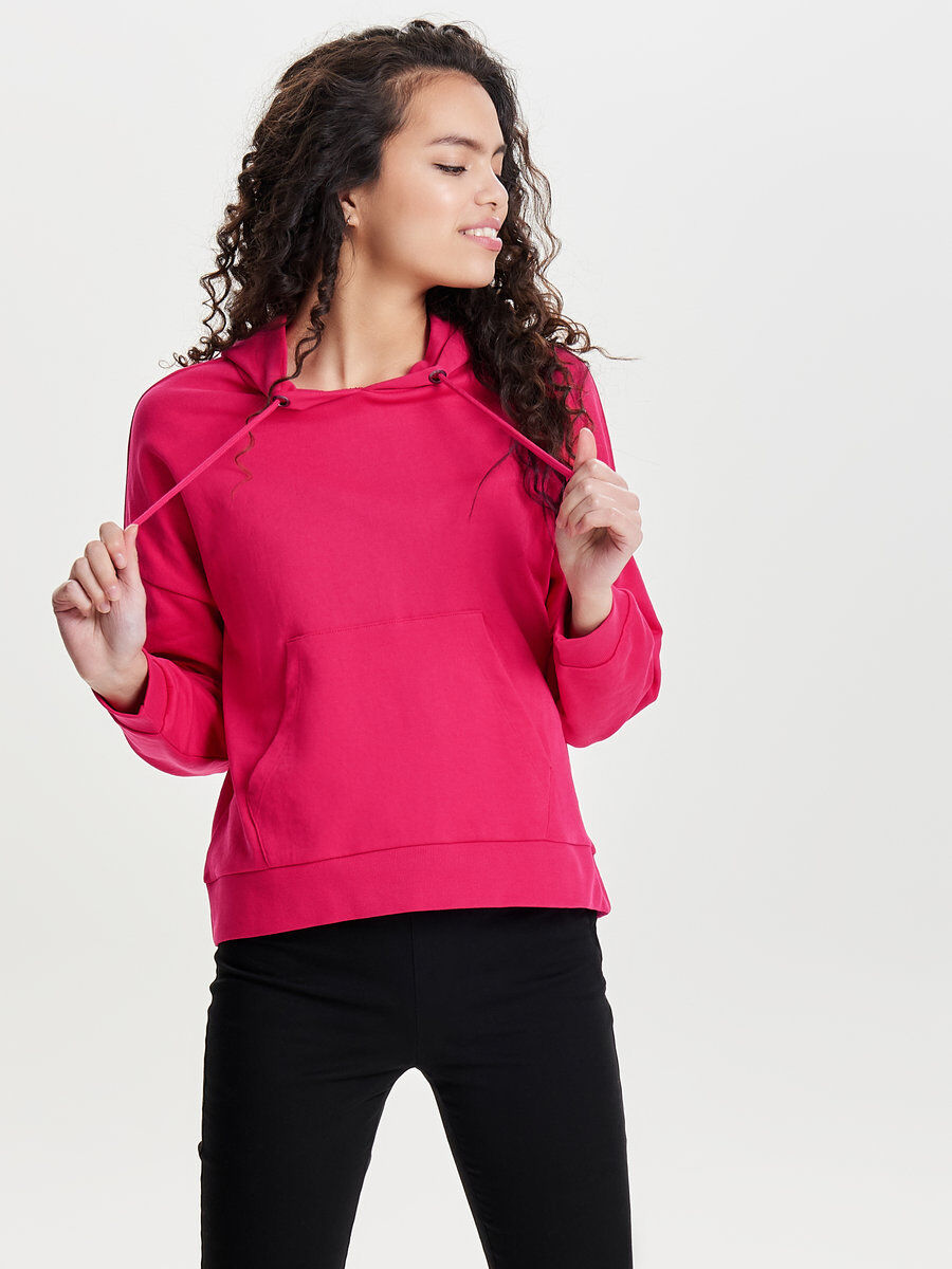 Popular Only Solid Sweatshirt Women Pink Outlet Ebay bLRZaCrNhh