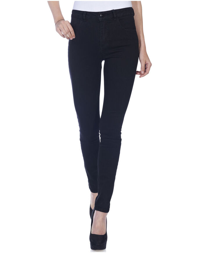 MILA HIGH SKINNY JEANS, BLACK, large