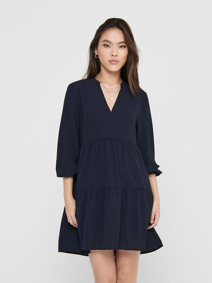LOOSE FITTED DRESS, Night Sky, large