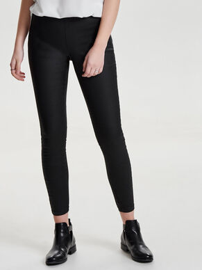 DALLAS HW COATED ANKLE SKINNY FIT JEANS