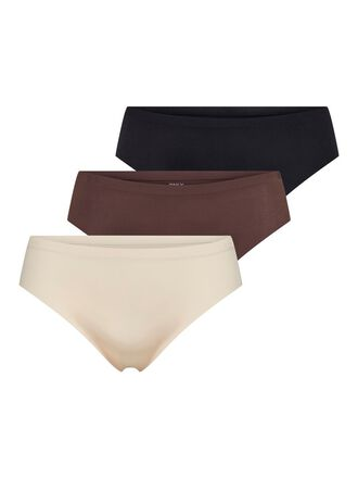 3ER-PACK NAHTLOSE BRIEFS
