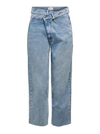 ONLPAM MID CROPPED STRAIGHT FIT JEANS